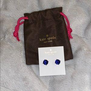 kate spade earrings and dust bag